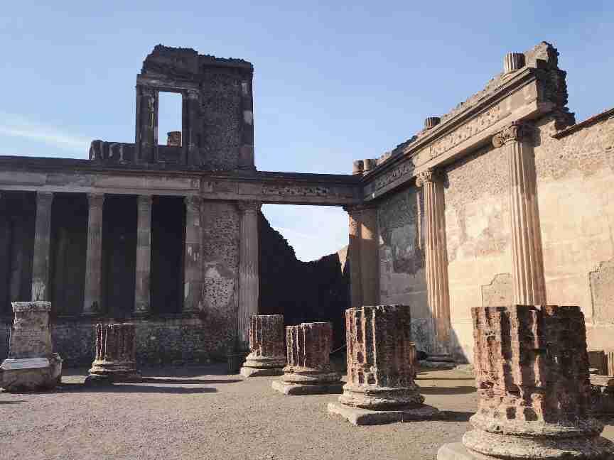 שרידי העיר פומפיי