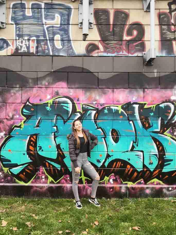 וינה עם ילדים - אומנות רחוב