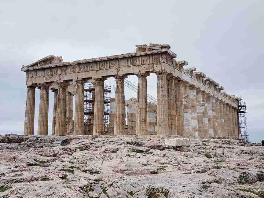 הפרתנון, אתונה