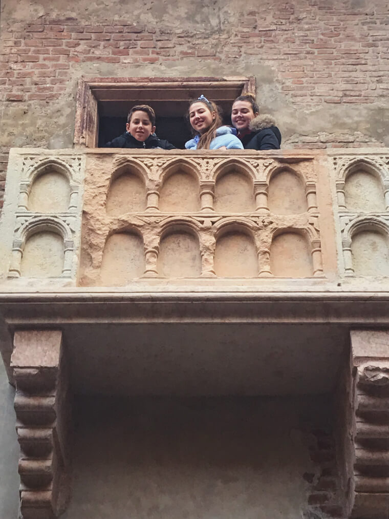 המרפסת של יוליה - ורונה