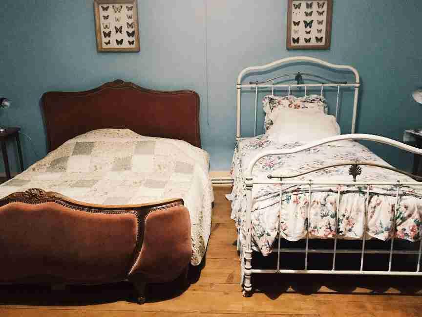 שאטו בורבוול צרפת - חדר שינה