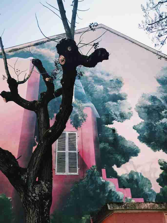 חופשה בצרפת - אמנות רחוב בדיז'ון