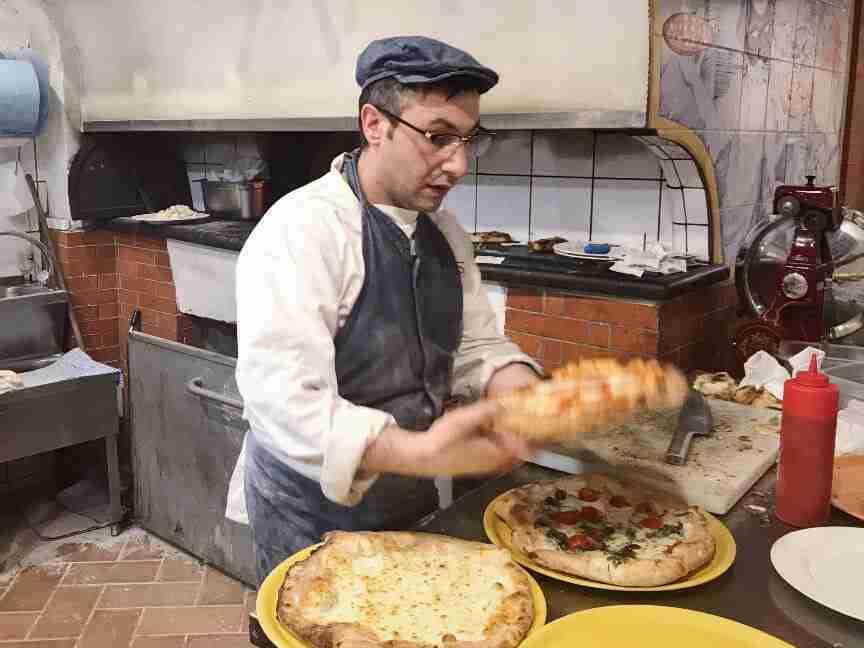 מסעדת Zi 'Ntonio סורנטו דרום איטליה