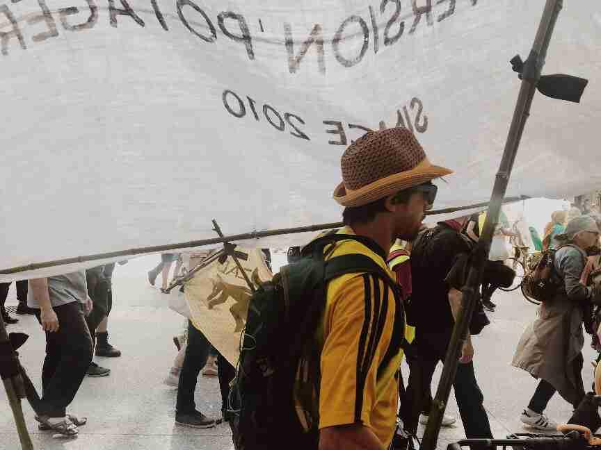 חופשה בצרפת - מחאת האפודים הצהובים, דיז'ון