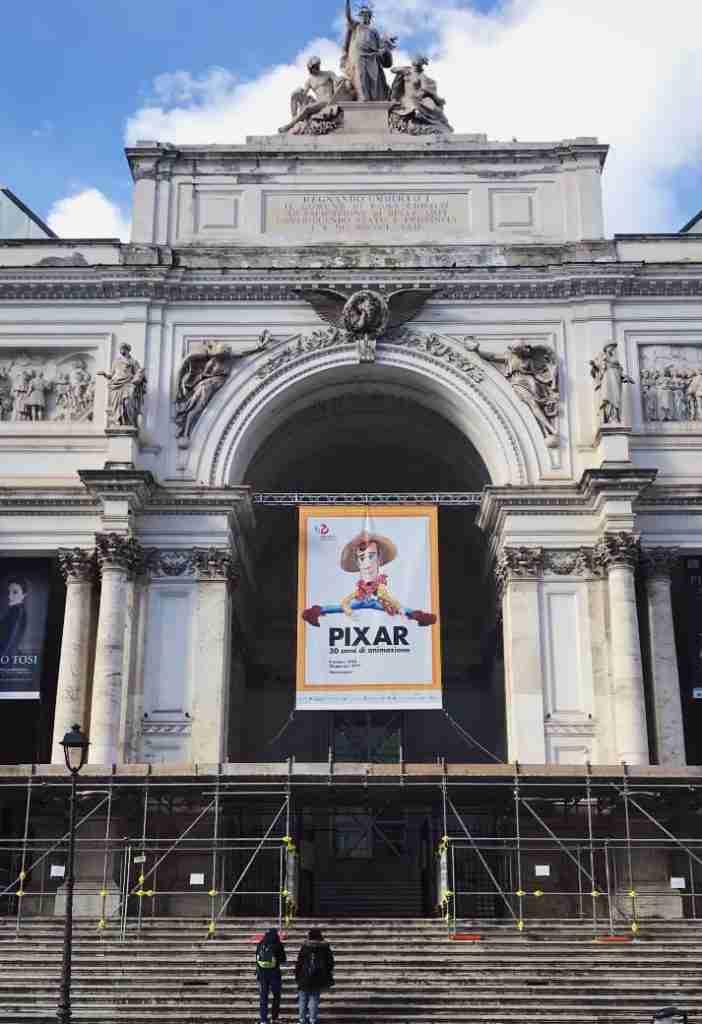 חופשה ברומא - מוזיאון ארמון התערוכות, רומא