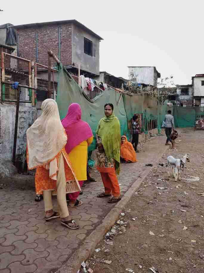 השטח הציבורי בסלאם דהראווי, מומבאי