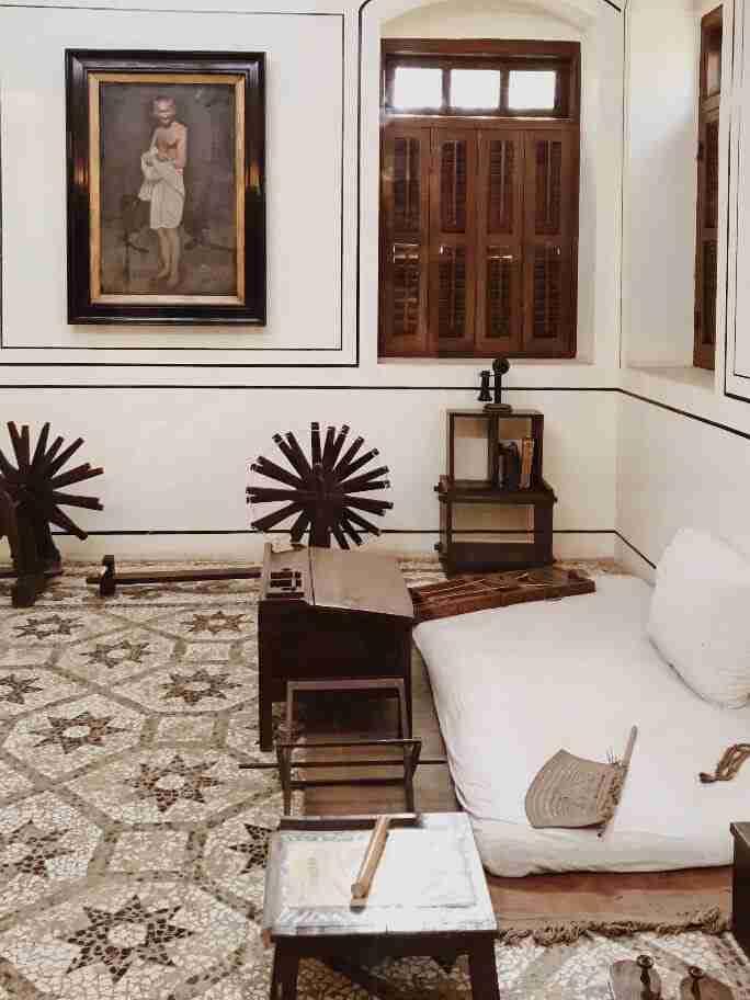 חדרו של גנדהי, מוזיאון גנדהי, מומבאי