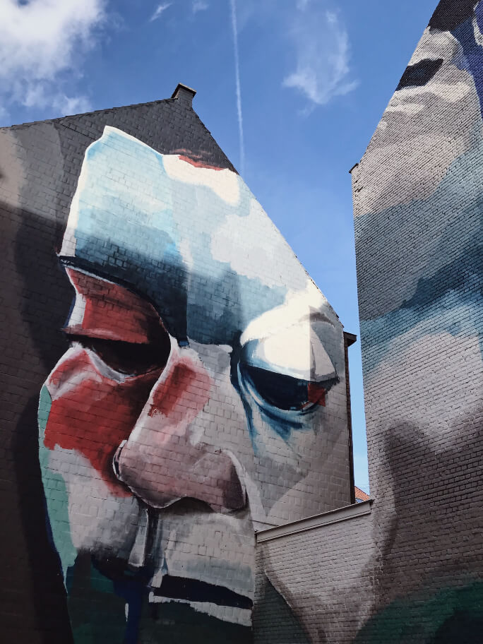 אנטוורפן - אמנות רחוב