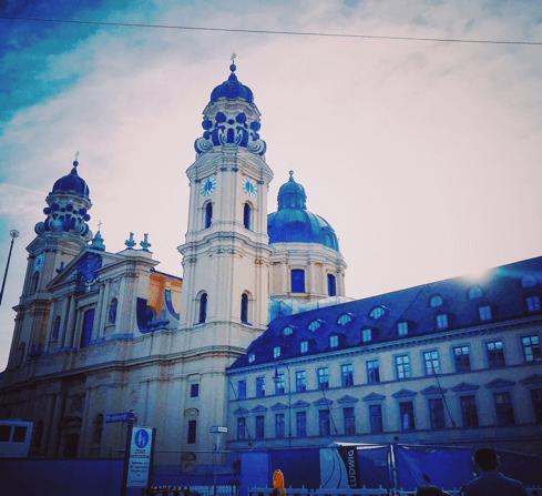 ברחובות מינכן - צבעוניות עירונית