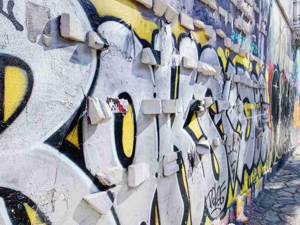 גרפיטי תלת מימד באתונה