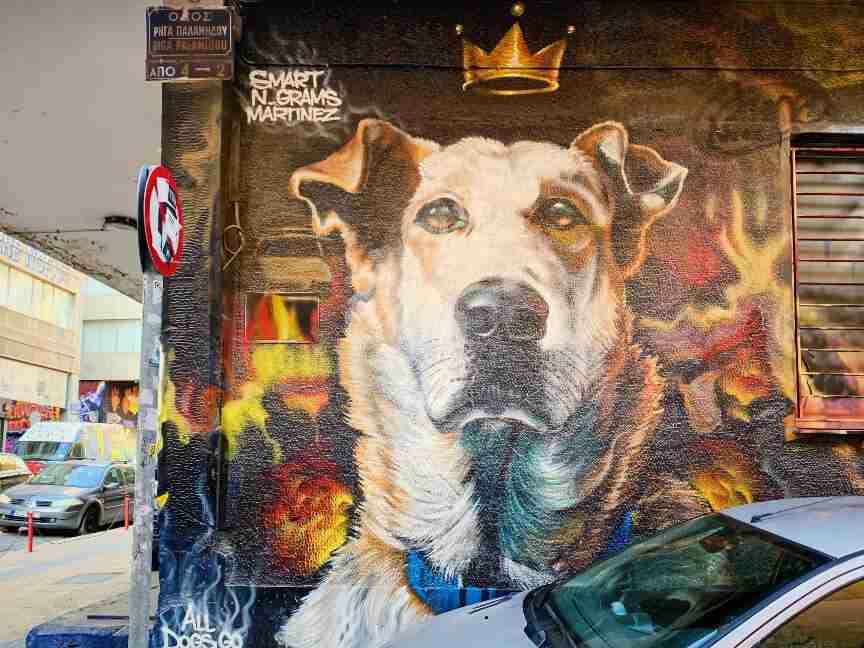 אמנות רחוב וגרפיטי באתונה