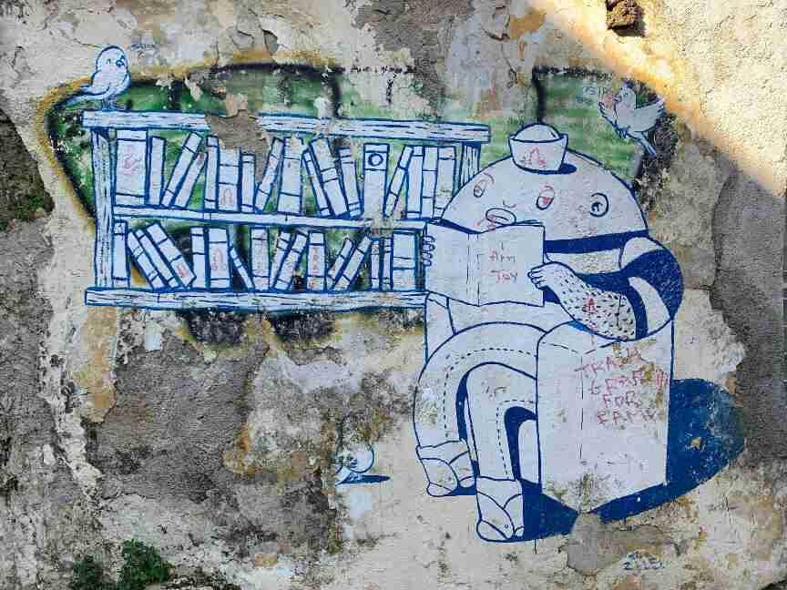 אמנות רחוב גרפיטי באתונה
