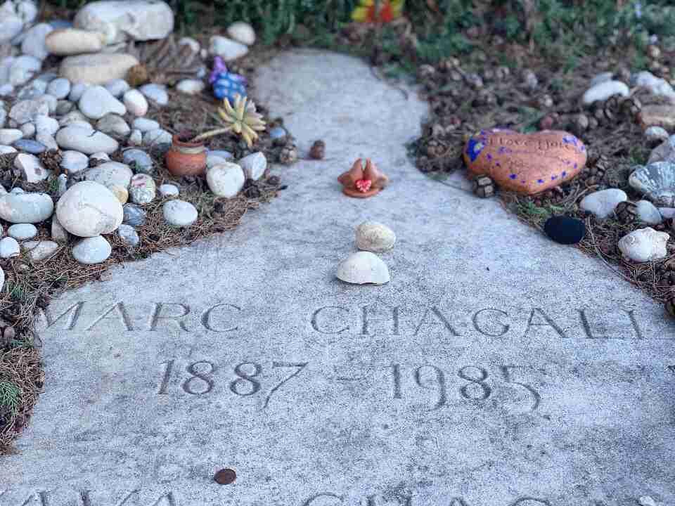 קברו של מארק שאגאל, סן-פול-דה-ואנס