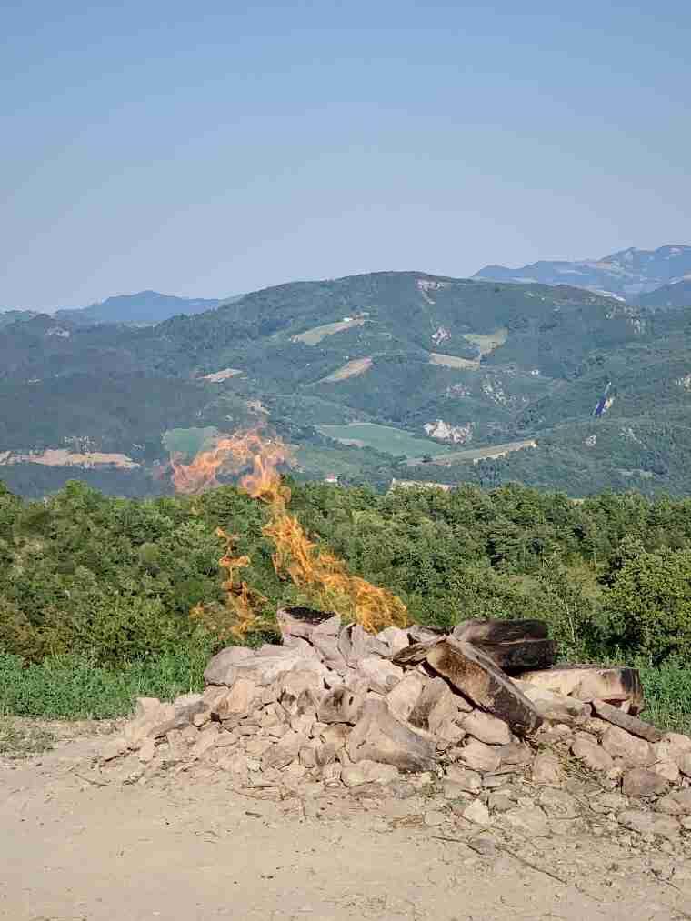 וולקנו של מונטה בוסקה (Vulcano Monte Busca)