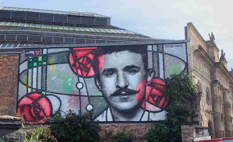 אמנות רחוב גרפיטי גלאזגו