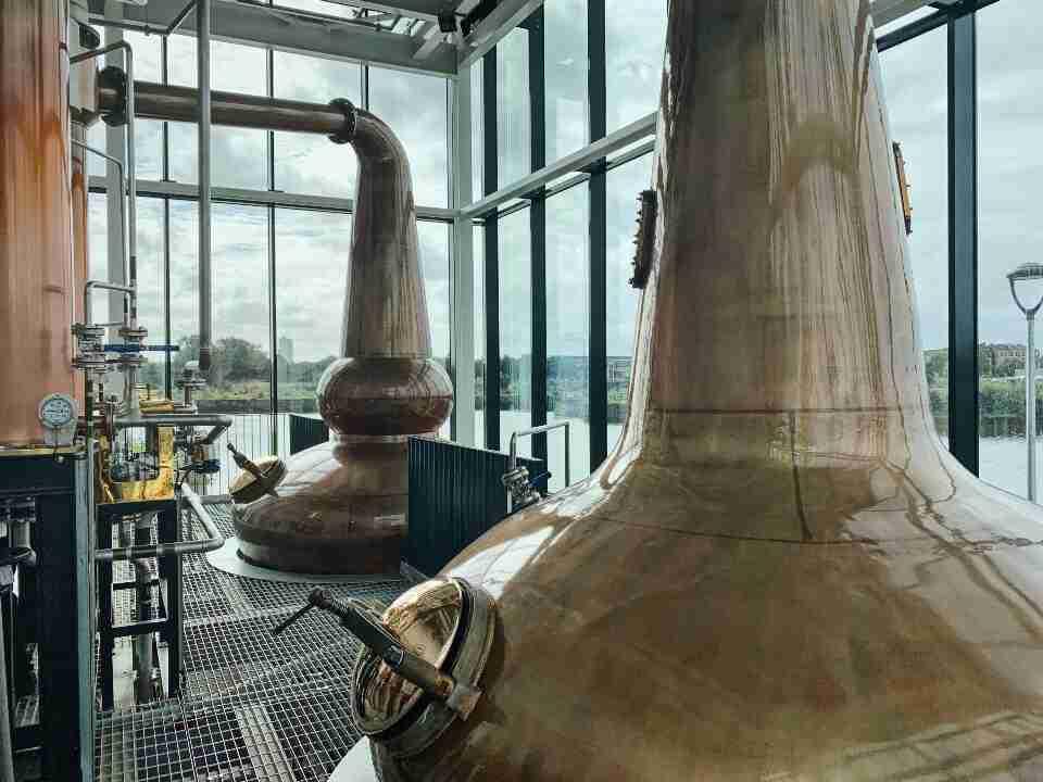 מזקקת וויסקי Clydeside Distillery גלאזגו