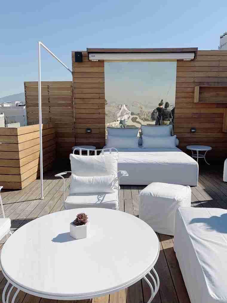 גינת גג Rooftop, Yes Hotel