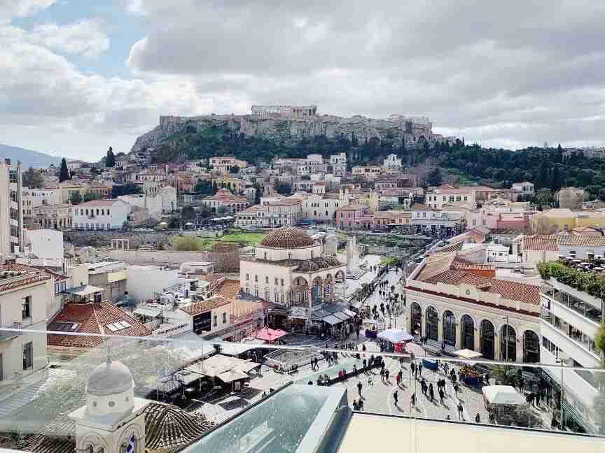 גינת גג Rooftop, A For Athens