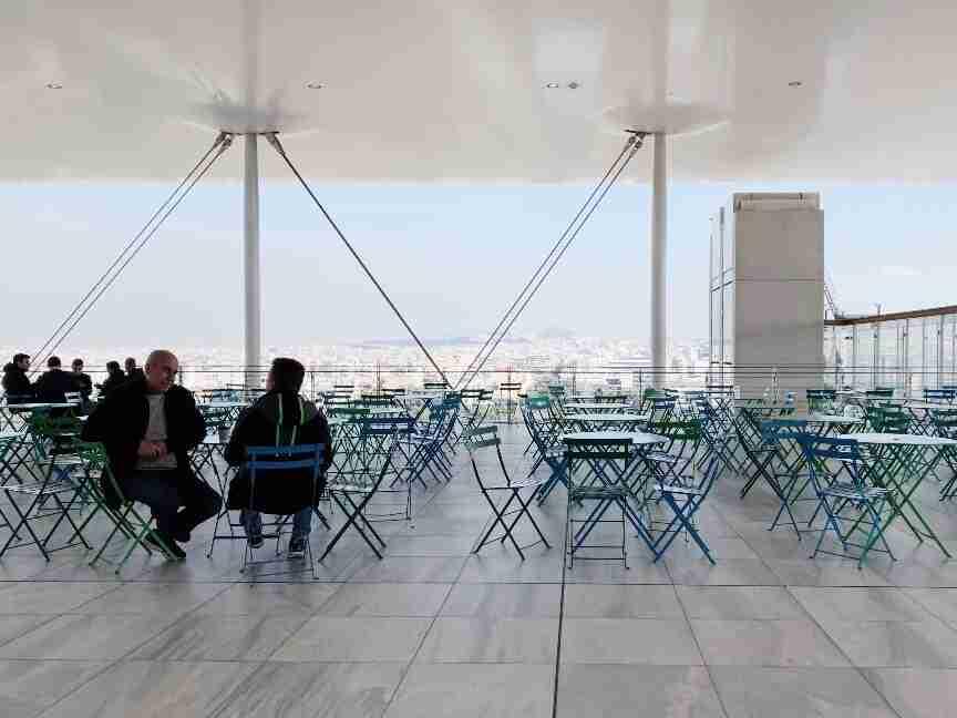 גג מרכז התרבות החדש באתונה