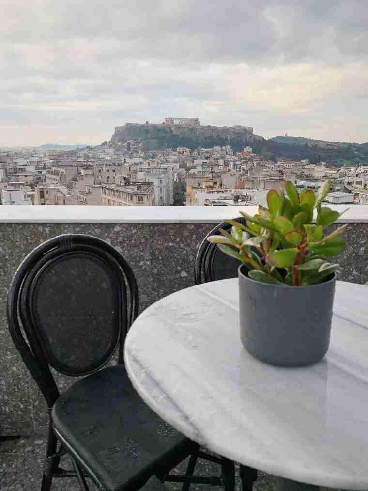 גינת גג Rooftop The Pinnacle Hotel