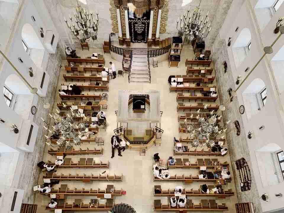 בית הכנסת החורבה ירושלים